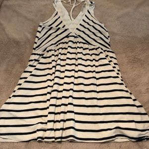 Lovers and friends black and white stripe dress M